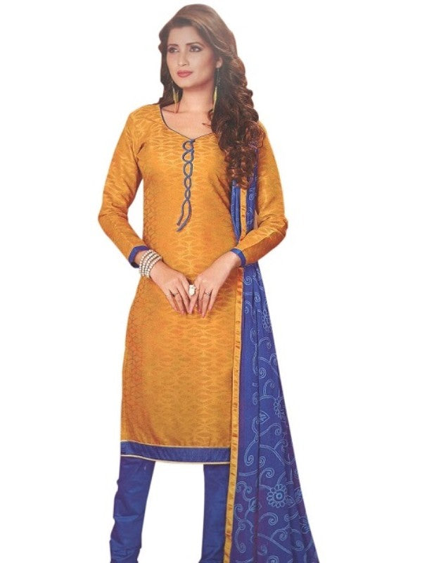 Printed Cotton Salwar Suit Dress Material For Women