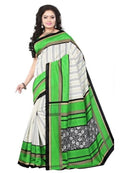 Printed Bhagalpuri Art Silk Saree
