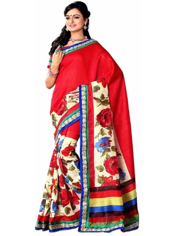 Bhagalpuri Art Silk Saree