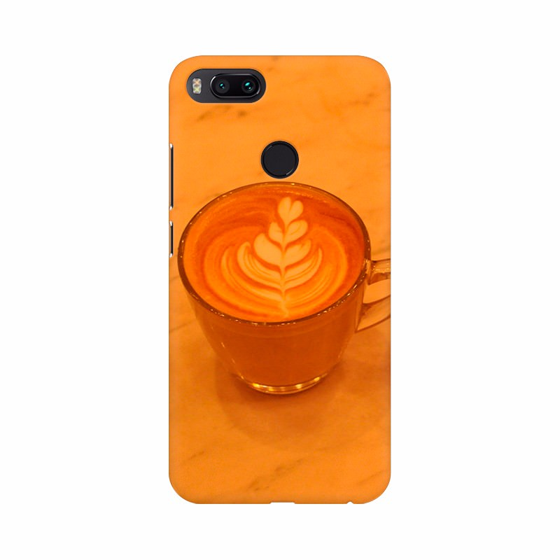 Cup of Orange milk Shake Wallpaper Mobile Case Cover