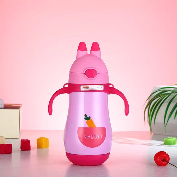 Pink Water bottle for kids