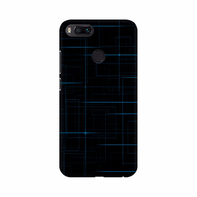 Dark Blue Lines wallpapers Mobile Case Cover