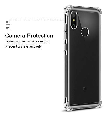 Shockproof Full Protection Back Cover for MI Redmi Note 7 Pro/ Note 7S (Transparent) - AHLG004100010SBSRN7SC