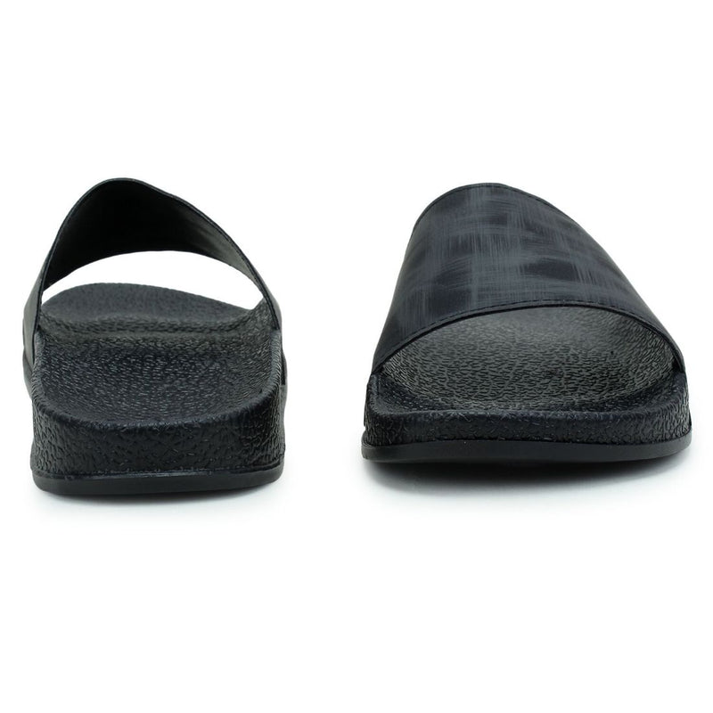 Women Black Color Synthetic Material  Casual Sliders