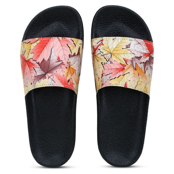 Women Multicolor Color Synthetic Material  Casual Sliders