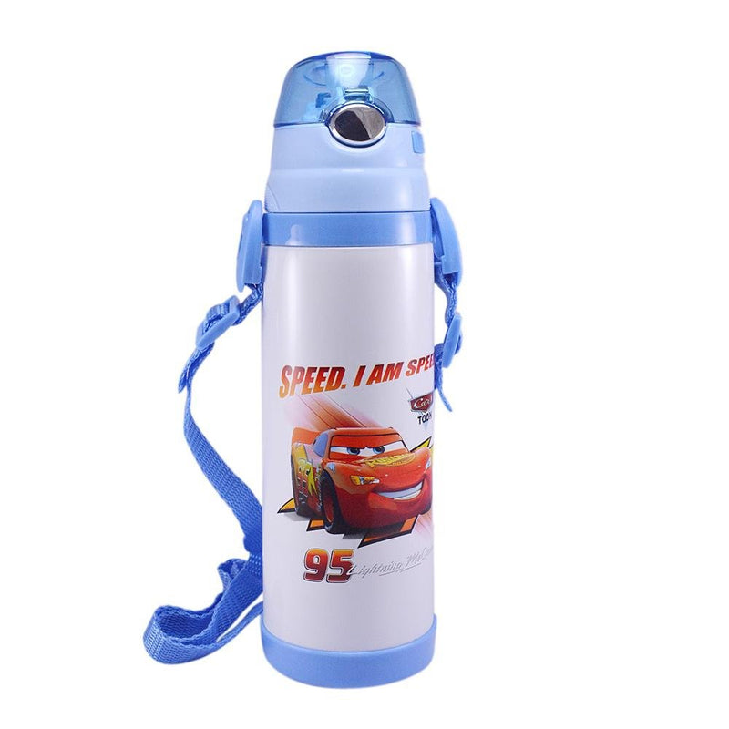 Hot and Cold Kids water bottle for school | Blue | Vacuum | Stainless Steel | Student Baby Unisex Sipper flask bottle