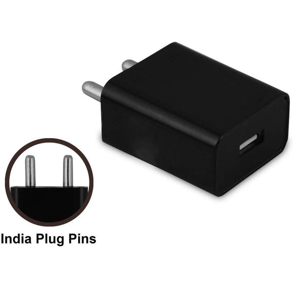Fast USB Charger For iPhone And Android Devices (Black) | Mobile Charger