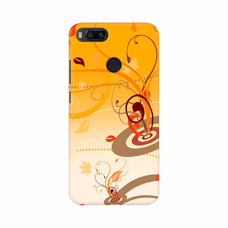 Orange Color beautiful wallpaper Mobile Case Cover