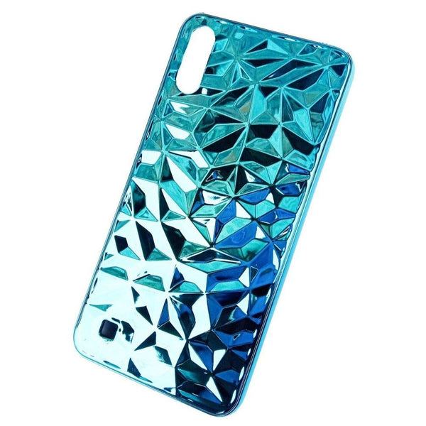 Diamond 3D Shining Design Hard Back Case Cover for Samsung Galaxy M10  Blue | Golden | Red Color