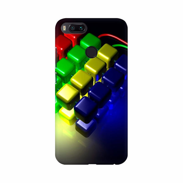 Abstract 3D Squares Mobile Case Cover - Apple iPhone | Asus | Honor | one plus | oppp | realme | redmi | samsung | vivo