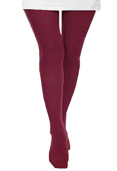 Aristoc Red Wine Ultra Bare Polished Tights