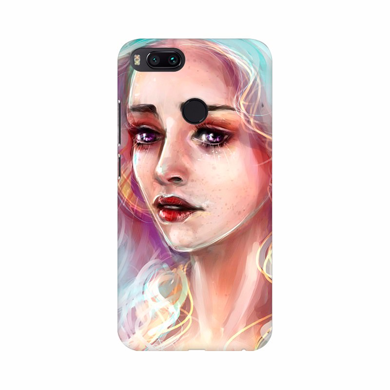 Magic Girl painting Mobile Case Cover