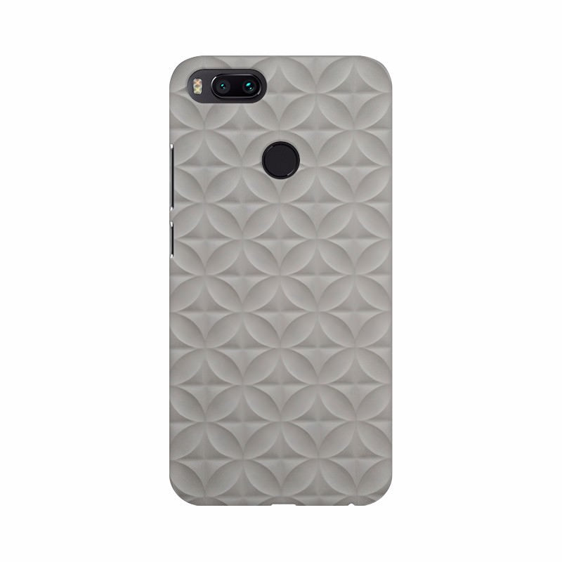 Grey color Shape Texture HD Mobile Case Cover