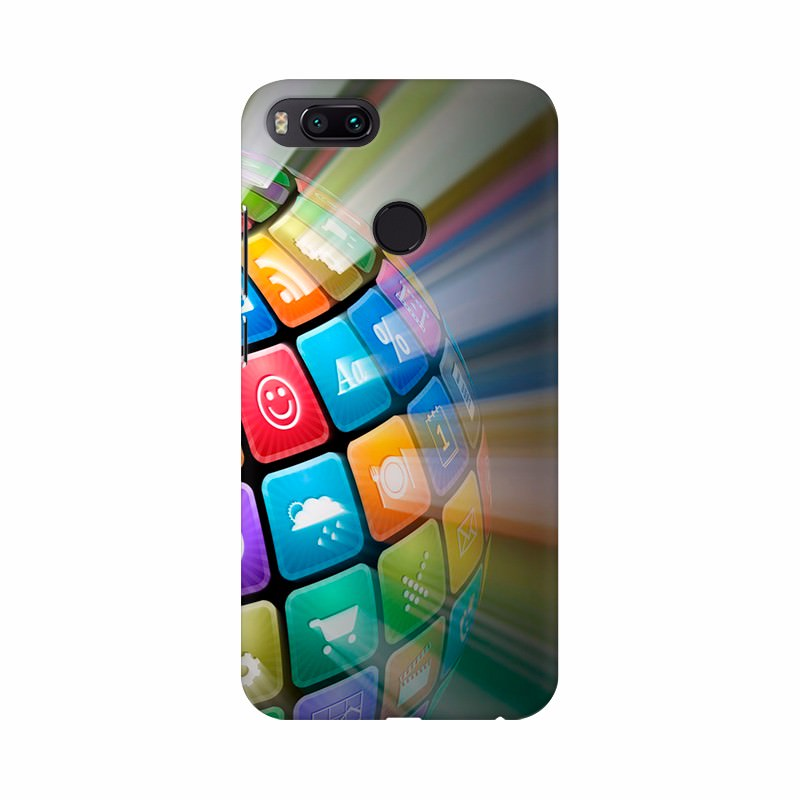 Digitalized Globe Mobile Case Cover
