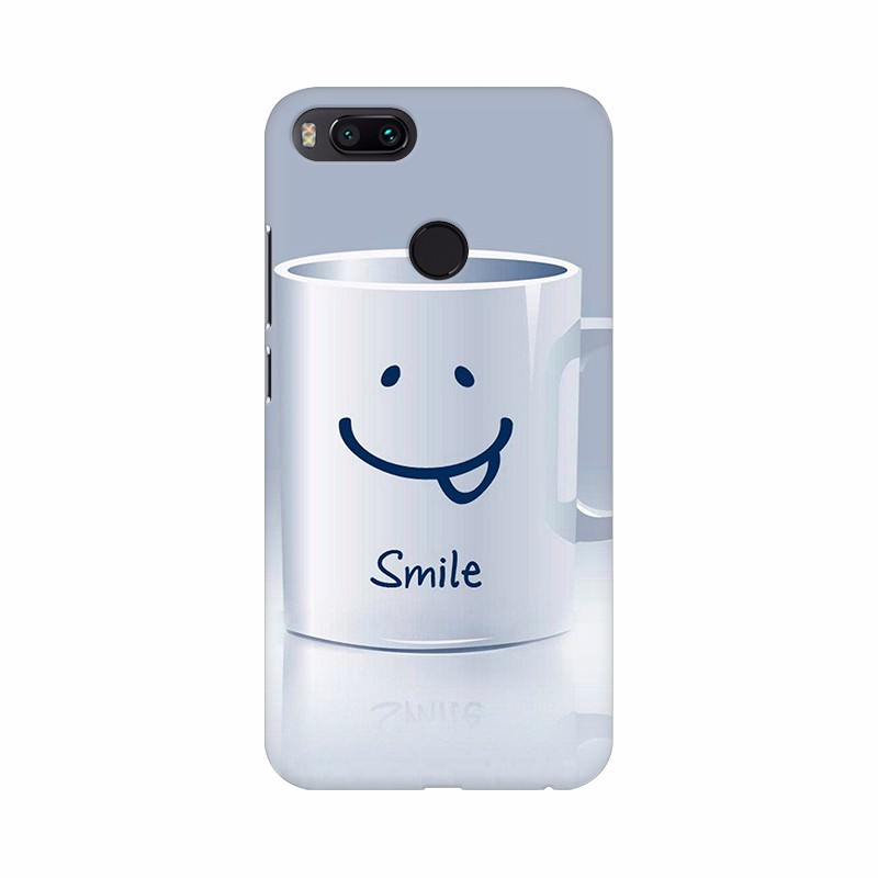 Cup of Smiling Wishes Mobile case cover