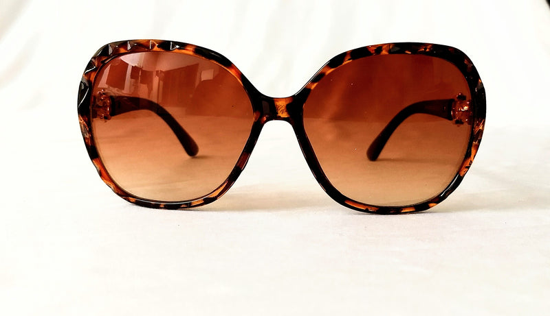Brown Black - Two Tone Sunglasses for Girls / Women - MOWS000007CBN5
