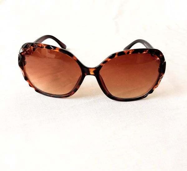 Two Tone Color Sunglasses for Girls / Women - MOWS000007ABN4