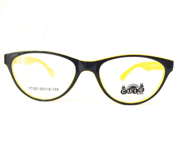 Black and Yellow Girls / Kids Frame - MOGF000056BN11