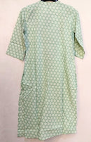 Sea Green Printed Kurti NT000051LIGHTGREEN