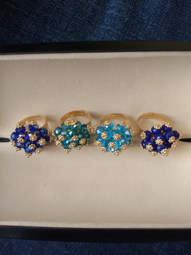 Blue Ring For Matching Dresses