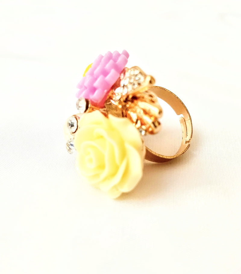 Flower Ring For Matching Dresses