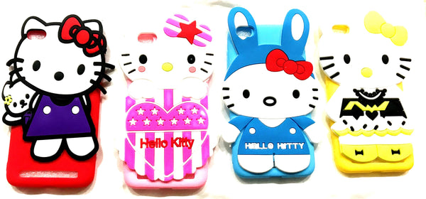 Girl's Back Cover Hello Kitty Silicon with Pendant for MI REDMI 5A - AHFK008300005FKSR5AC