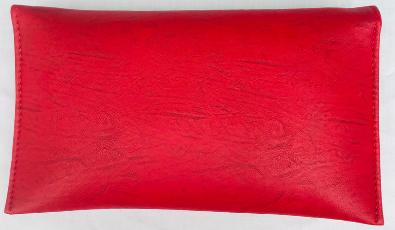 Red Clutch WIth Sling Faux Leather - YB00951RGLBF