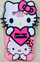 Full Kitty Case Cover for S Galaxy J2 (Soft Silicone Cute Hello Kitty Back Cover for S Galaxy J2) - AHFK00830005FKSSJ2C