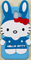 Cartoon Soft Silicone Hello Kitty Back Case Cover for Samsung Galaxy J4 - AHFK00830005FKSSJ4C