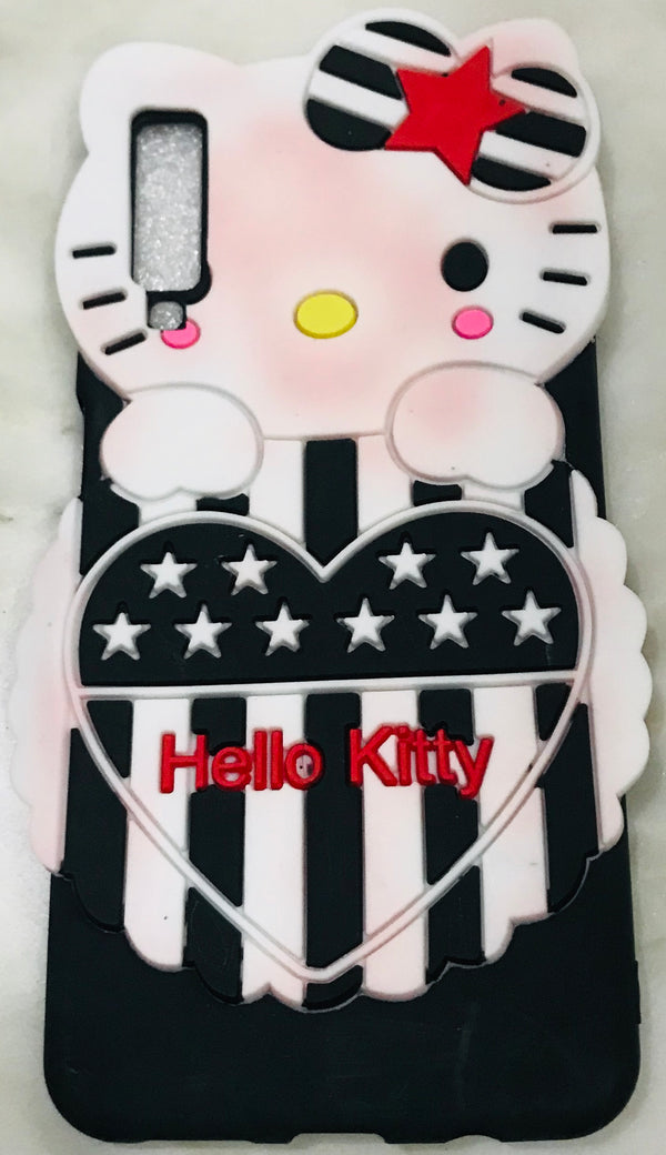 Girl's Back Cover Hello Kitty Silicon for Samsung A7 2018 - AHFK00830004FKSSA7C