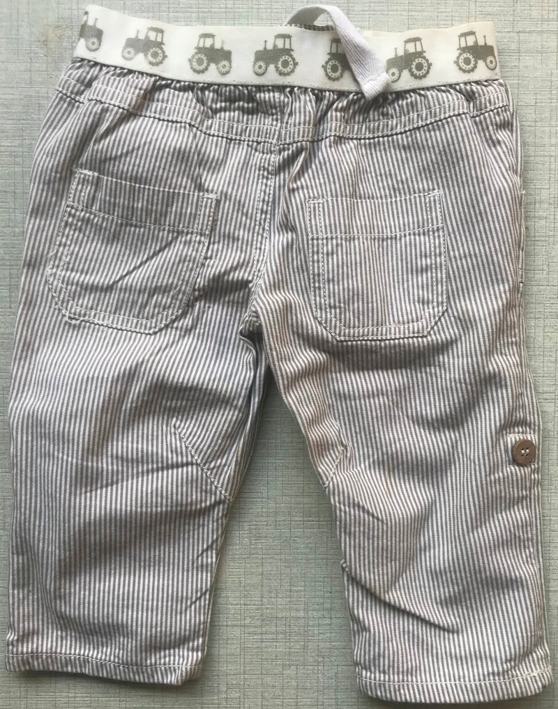 Baby White & Olive Pants/Shorts - NT00001WOCPVL