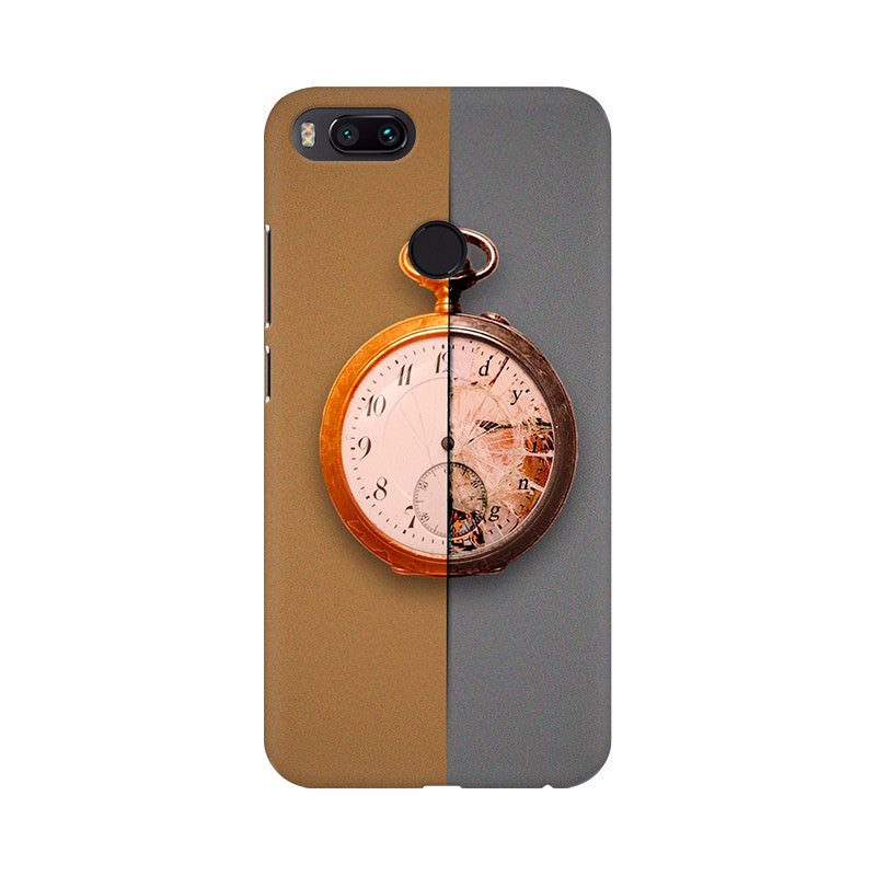 Two Dimentional clock Mobile Case Cover
