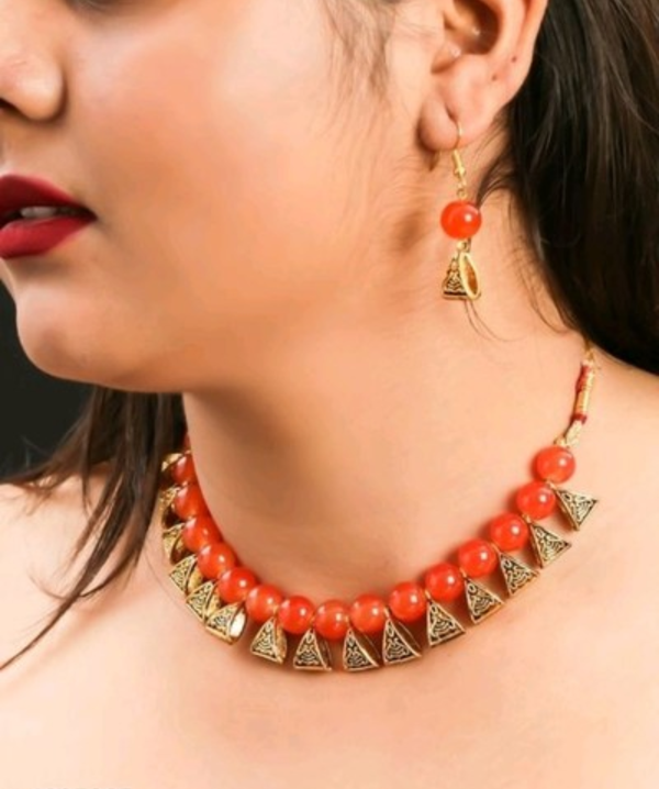 Red Necklace - WB00008