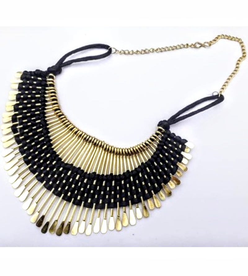 Amazing Party wear Necklace In Black Color