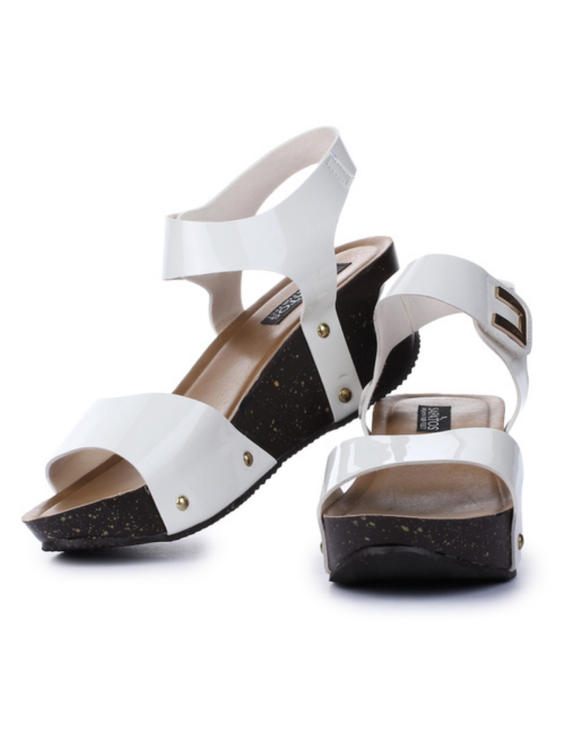 Heels for Women  SKSEPATOSLS10000982WHITE Size 7 | 8| 9 | 10