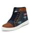 Men Ankle Shoe - SKTTRENDZWS1000562BLUEBROWN