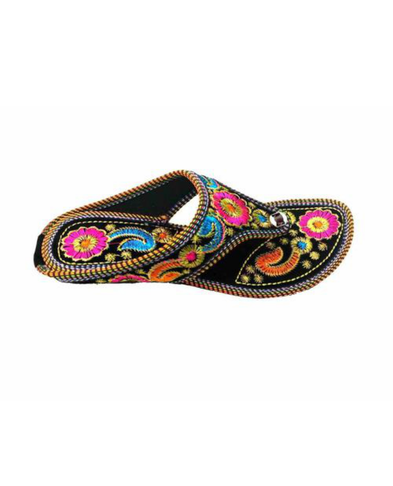 Multi-color Women Slippers - SKMOJARISL1000057MULTI