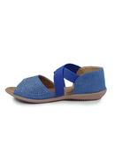 Light Blue Sandals - SKKAMAL208681BLUEB7