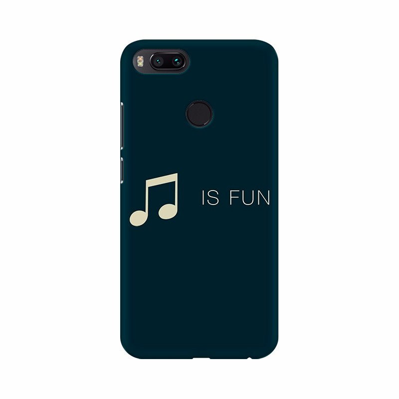 Music is Fun Mobile Case Cover