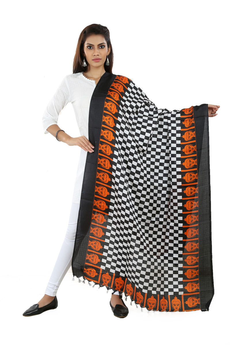 Art Silk Printed Dupatta