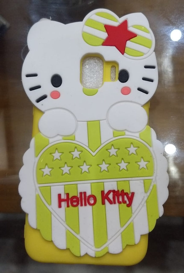 Cute Hello Kitty Silicone with Pendant Back Case Cover for Samsung Galaxy J2 Core - AHFK00830005FKSSJ2CC