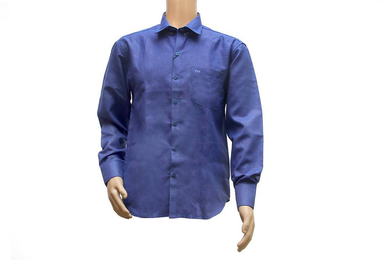 Denim Mix Men Shirt