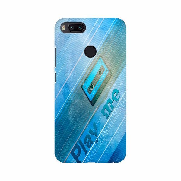 Abstract Blue color cassette Mobile Case Cover - Apple iPhone | Asus | Honor | one plus | oppp | realme | redmi | samsung | vivo