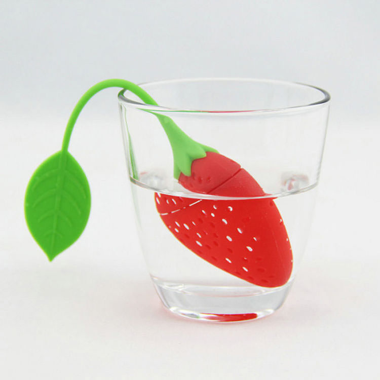 Strawberry Shape Tea Filter
