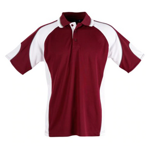 Mens Alliance Polo with Embroidery