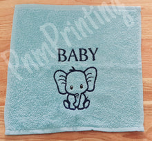 Load image into Gallery viewer, Personalised bath towel set