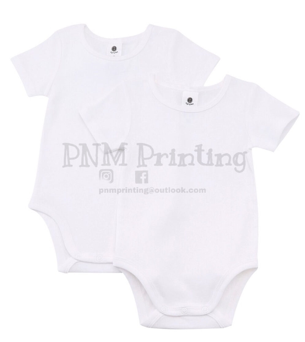 Personalise your own onesie - VINYL APPLICATION