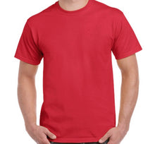 Load image into Gallery viewer, Personalised Basic Cotton Tee - VINYL APPLICATION