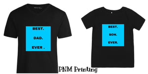 Personalised Basic Cotton Tee - VINYL APPLICATION