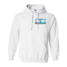 Load image into Gallery viewer, Chesapeake Bay Plate Breast Cancer Strength two sided logo Hoodies (No-Zip/Pullover)